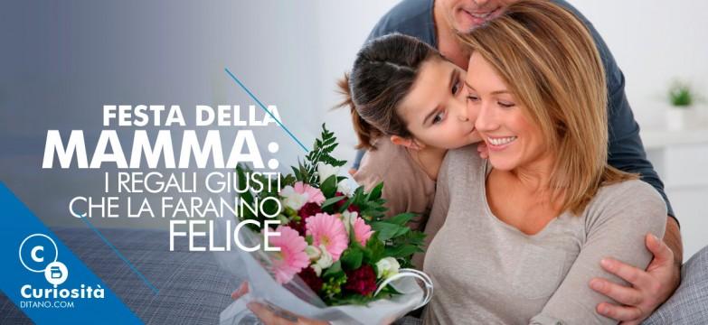 Festa della mamma: i regali giusti che la faranno felice
