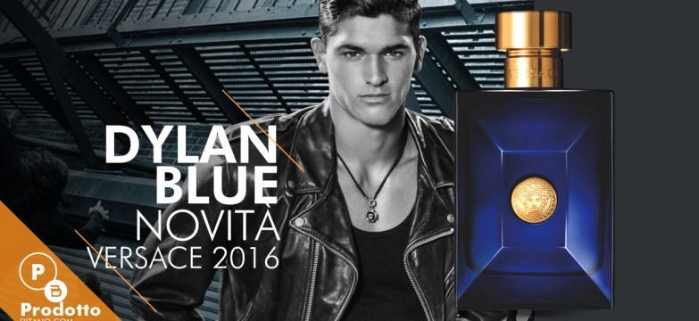 Versace Dylan Blue, novità in profumeria
