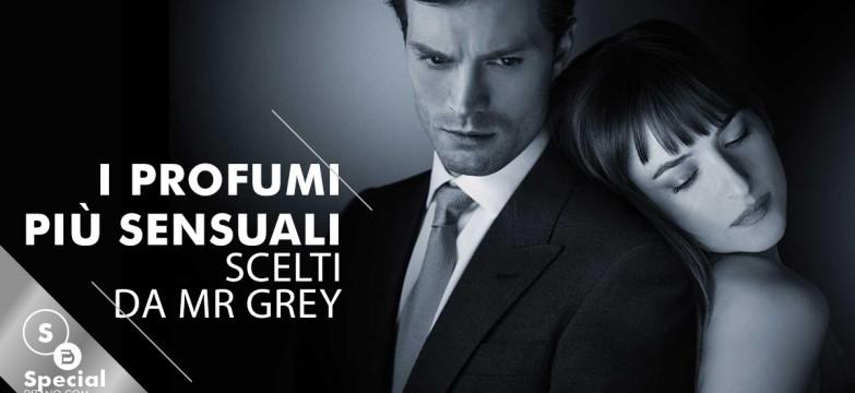 50 sfumature di nero: i profumi sensuali di Mr Grey