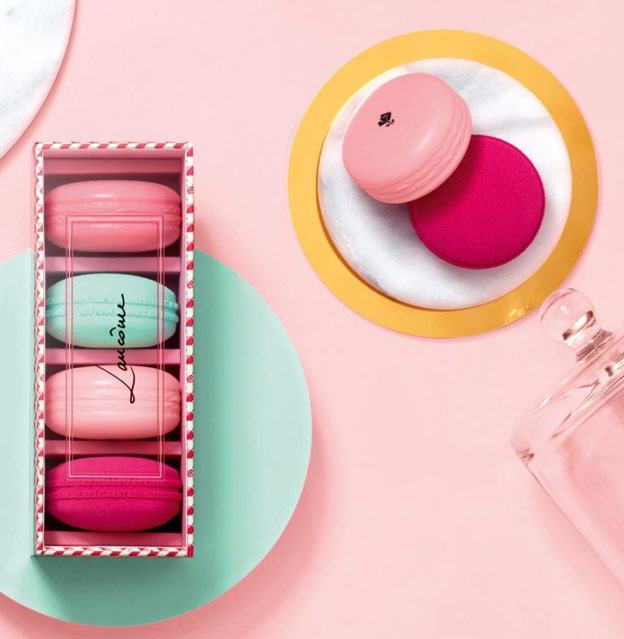 Macaron Blush & Blender Lancome French Temptation