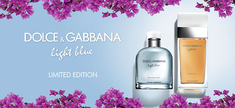 Dolce&Gabbana light blue limited edition