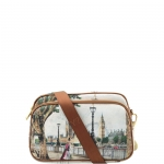 Tracolla - Y Not? Borsa Tracolla S Cuoio Gold Amazing London H 331
