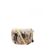 Sella - Y Not? Borsa Sella Off White Gun Metal Beige Manhattan H 353