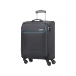 Trolley - American Tourister Valigia Trolley Funshine Spinner S Sparkling Graphite