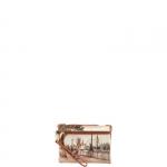 Pochette - Y Not? Pochette manicotto S Cuoio Gold Amazing London H 343