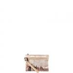 Pochette - Y Not? Pochette manicotto S Off White Gun Metal Beige Manhattan H 343