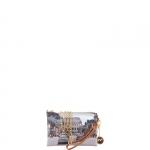 Pochette - Y Not? Pochette manicotto M Cuoio Gold Weekend in Rome H 384