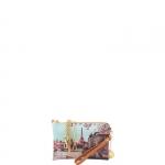 Pochette - Y Not? Pochette manicotto M Cuoio Gold Paris Seine H 384