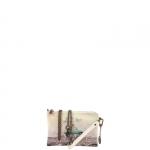 Pochette - Y Not? Pochette manicotto M White Gun Metal Funny in Rome H 384