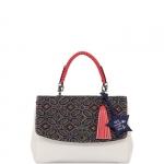 Hand Bag - Le Pandorine Borsa Hand Bag Pon Pon Me White