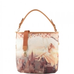 Shopping bag - Y Not? Shopping Bag L Cuoio Gold Lively NY H 349