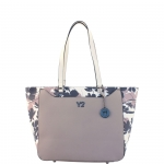 Shopping bag - Y Not? Borsa Shopping Bag L Linea Sol Taupe S002