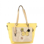 Shopping bag - Y Not? Shopping Bag L Linea Reverso R004 Yellow