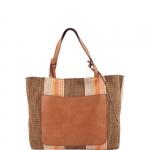 Shopping bag - Gianni Chiarini Borsa Shopping Bag L BS 5669 ZMB RMN RE Orange Honey Gold