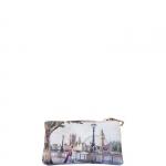 Accessori - Y Not? Beauty Pochette con Zip M Cuoio Gold Amazing London H 341