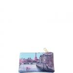 Accessori - Y Not? Beauty Pochette con Zip M Cuoio Gold Paris Seine H 341