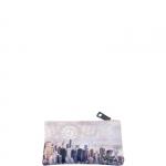 Accessori - Y Not? Beauty Pochette con Zip M Off White Gun Metal Beige Manhattan H 341
