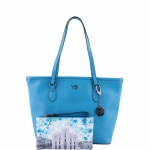 Shopping bag - Y Not? Borsa Shopping Bag M 796 B colore Blu