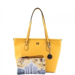 Shopping bag - Y Not? Borsa Shopping Bag M 796 B colore Yellow
