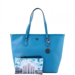 Shopping bag - Y Not? Borsa Shopping Bag L 797 B colore Blu