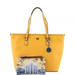 Shopping bag - Y Not? Borsa Shopping Bag L 797 B colore Yellow