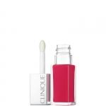 Gloss - Clinique Clinique Pop Lacquer Lip Colour *- Rossetto Lucido 2 in 1 Colore Intenso + Base Levigante