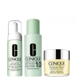 Detergere - Clinique 3 Step Intro System Extra Gentle - Pelle Sensibile e Delicata TIPO 1,2