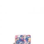 Portafoglio - Y Not? Portafoglio L Blu Fucsia Las Vegas LS 361