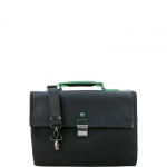 Cartella - Y Not? Briefcase L Nero Business BIZ 8520