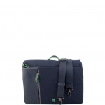 Cartella - Y Not? Messenger Bag L Blu Business BIZ 8514