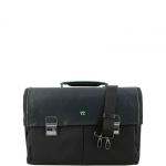 Cartella - Y Not? Briefcase L Nero Business BIZ 8521