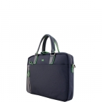 Cartella - Y Not? Briefcase due Manici L Blu Business BIZ 8550