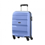 Trolley - American Tourister Valigia Trolley Bon Air Spinner M Porcelain Blue