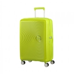 Trolley - American Tourister Valigia Trolley Sound box Spinner Exp M Tropical Lime