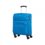 Trolley - American Tourister Valigia Trolley Summer Voyager Spinner S Breeze Blue