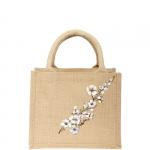 Shopping bag - Carla Caroli Borsa in Juta dipinta a mano CCB01