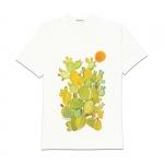 Abbigliamento - Carla Caroli T-Shirt in cotone dipinta a mano CCT03