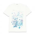 Abbigliamento - Carla Caroli T-Shirt in cotone dipinta a mano CCT04