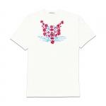 Abbigliamento - Carla Caroli T-Shirt in cotone dipinta a mano CCT07