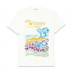 Abbigliamento - Carla Caroli T-Shirt in cotone dipinta a mano CCT09
