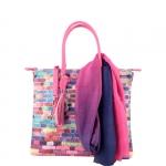 Shopping bag - Pash BAG by L'Atelier Du Sac Borsa Shopping Bag L Pop Block 5102 Tolosa