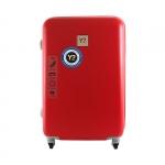 Trolley - Y Not? Valigia Trolley L Rosso H 5003
