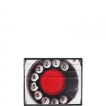 Portafoglio - Vip Flap Portafoglio M Private Full Image Telefono Nero