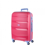 Trolley - American Tourister Valigia Trolley Bon Air Spinner M Fresh Pink / Porcelain Blu