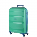 Trolley - American Tourister Valigia Trolley Bon Air Spinner L Mint Green / Marine Blu