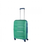 Trolley - American Tourister Valigia Trolley Bon Air Spinner S Strict Mint Green / Marine Blu