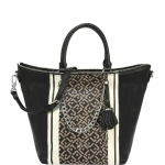 Shopping bag - Liu jo Borsa Shopping Bag Monospalla Poppa Printed A67073E0031 Nero / Marmo