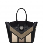 Shopping bag - Le Pandorine Borsa Shopping Bag Herlin GOODNIGHT Black