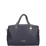 Bauletto - Liu jo Borsa Bauletto M Anna Chain A67003E0087 Night Blu Sky