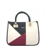 Hand Bag - Liu jo Borsa Hand Bag M Quadrata Anna Chain A67085E00817 True Champagne / Lacca / Black